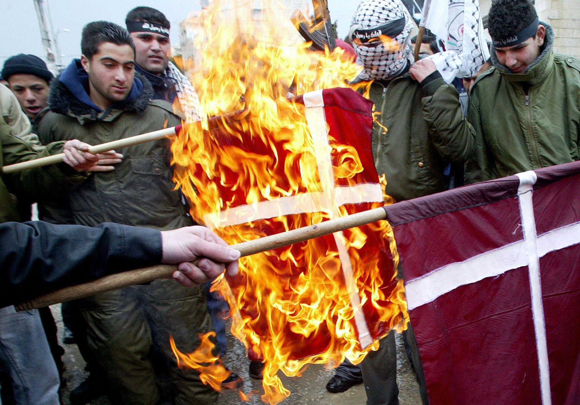 Protests in Denmark