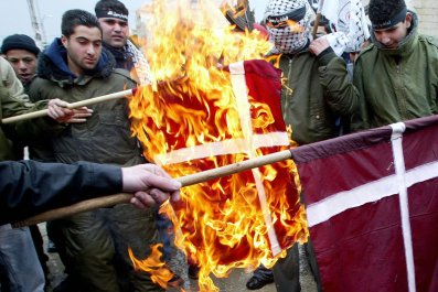 Protests in Denmark