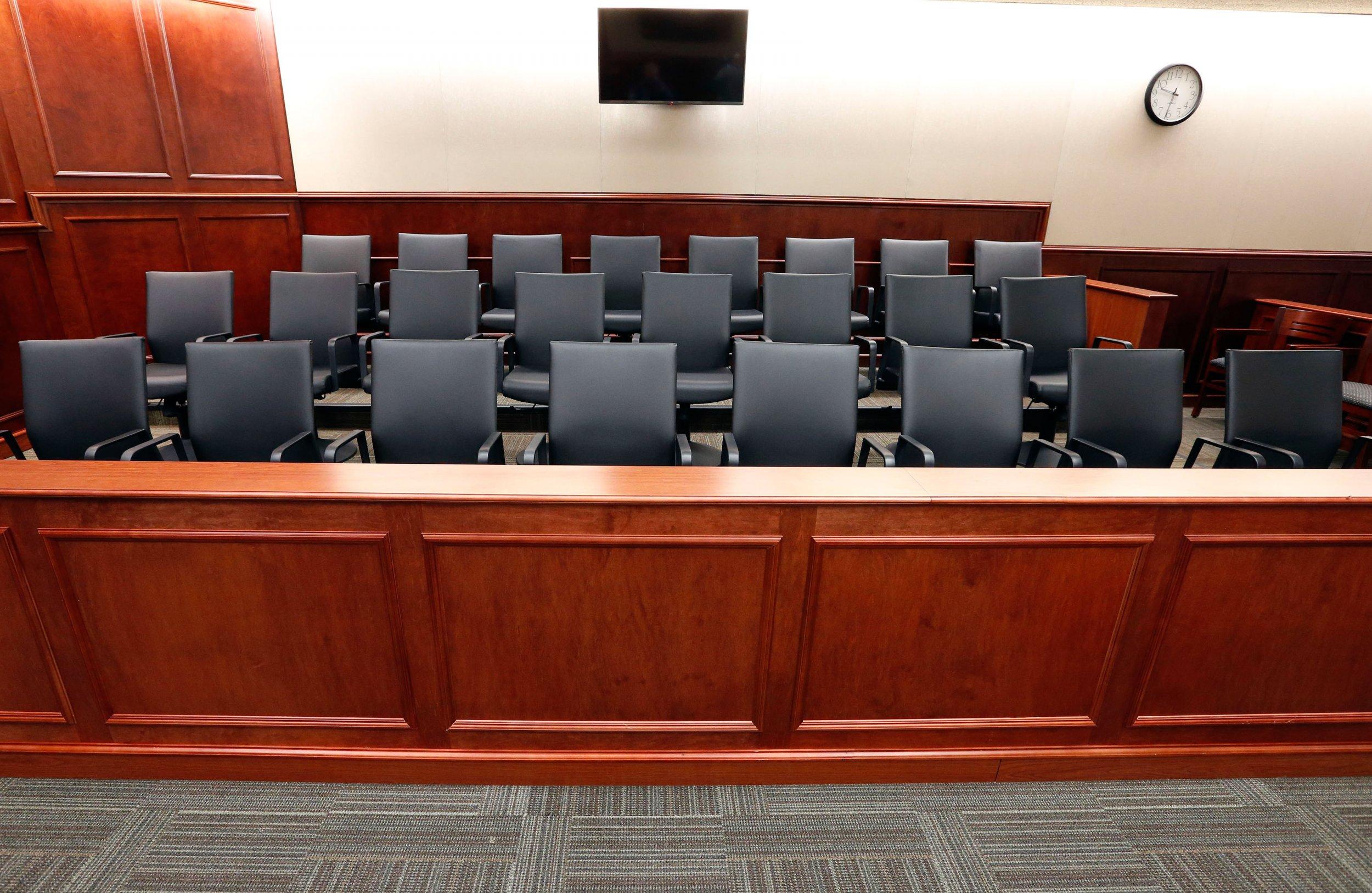 1-20-15 Aurora trial jury box