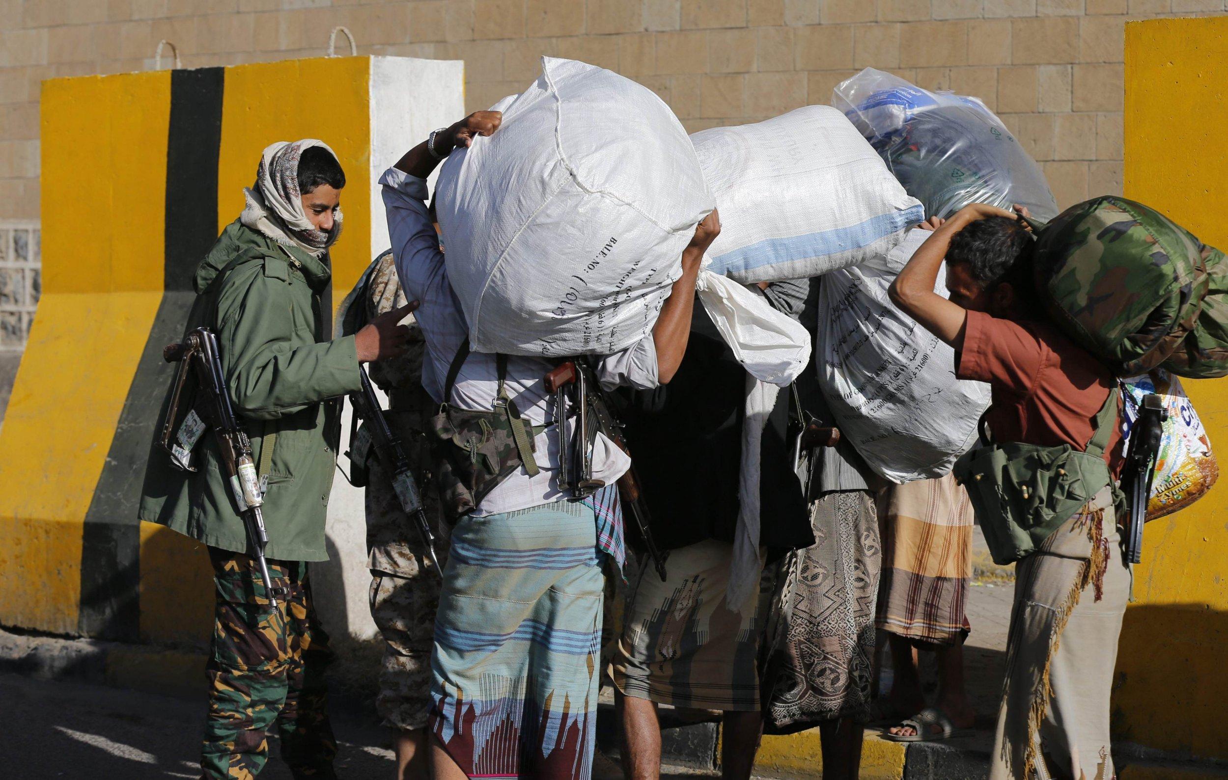 Yemeni Presidential guards
