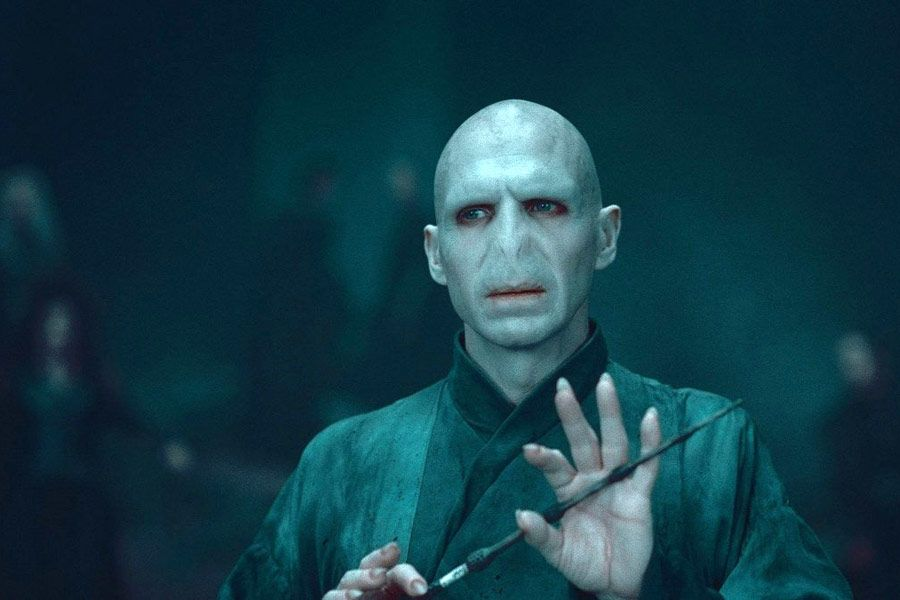 Ralph Fiennes as Voldemort in Harry Potter and The Order of The Phoenix, 2007.