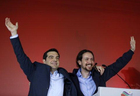 Tsipras and Iglesias