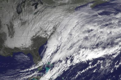 storm from space