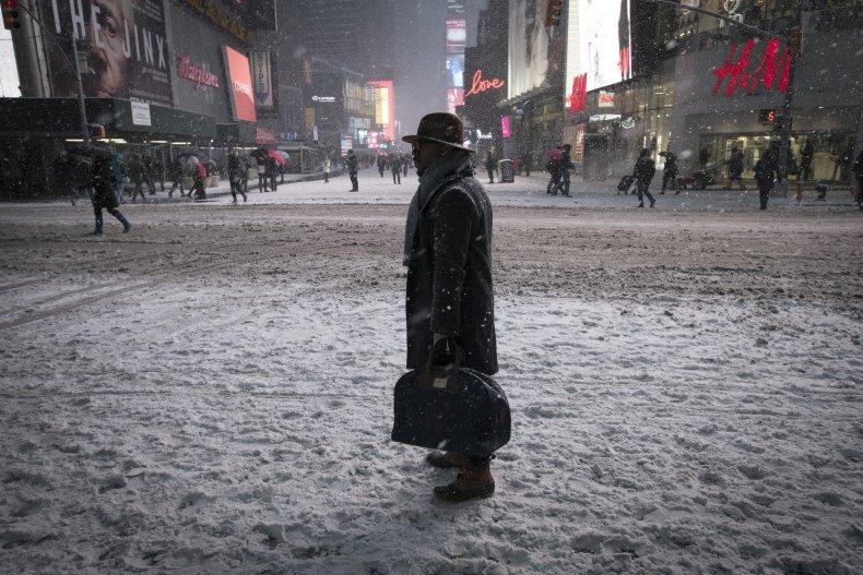 US Snow Blizzard