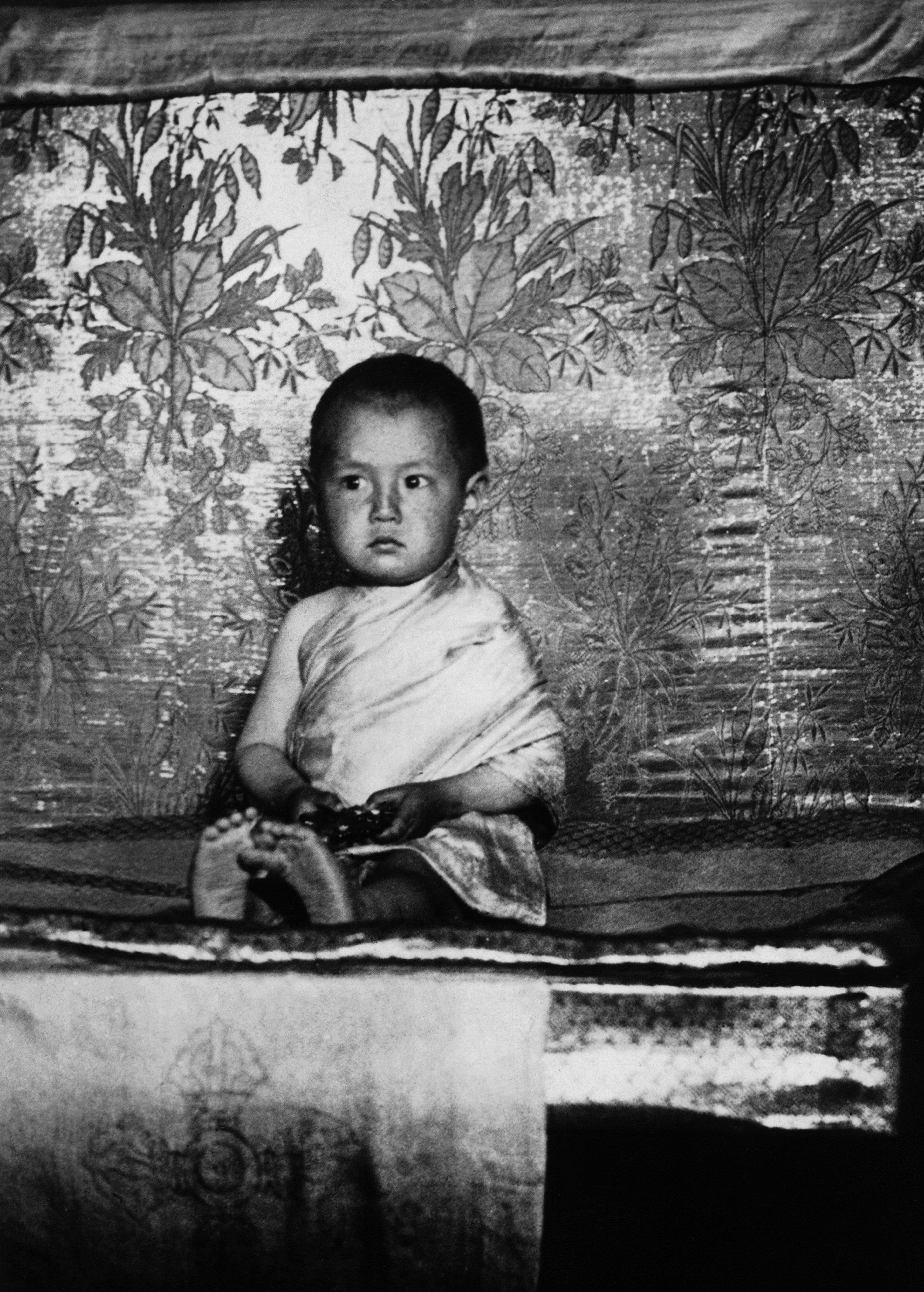Young Dalai Lama