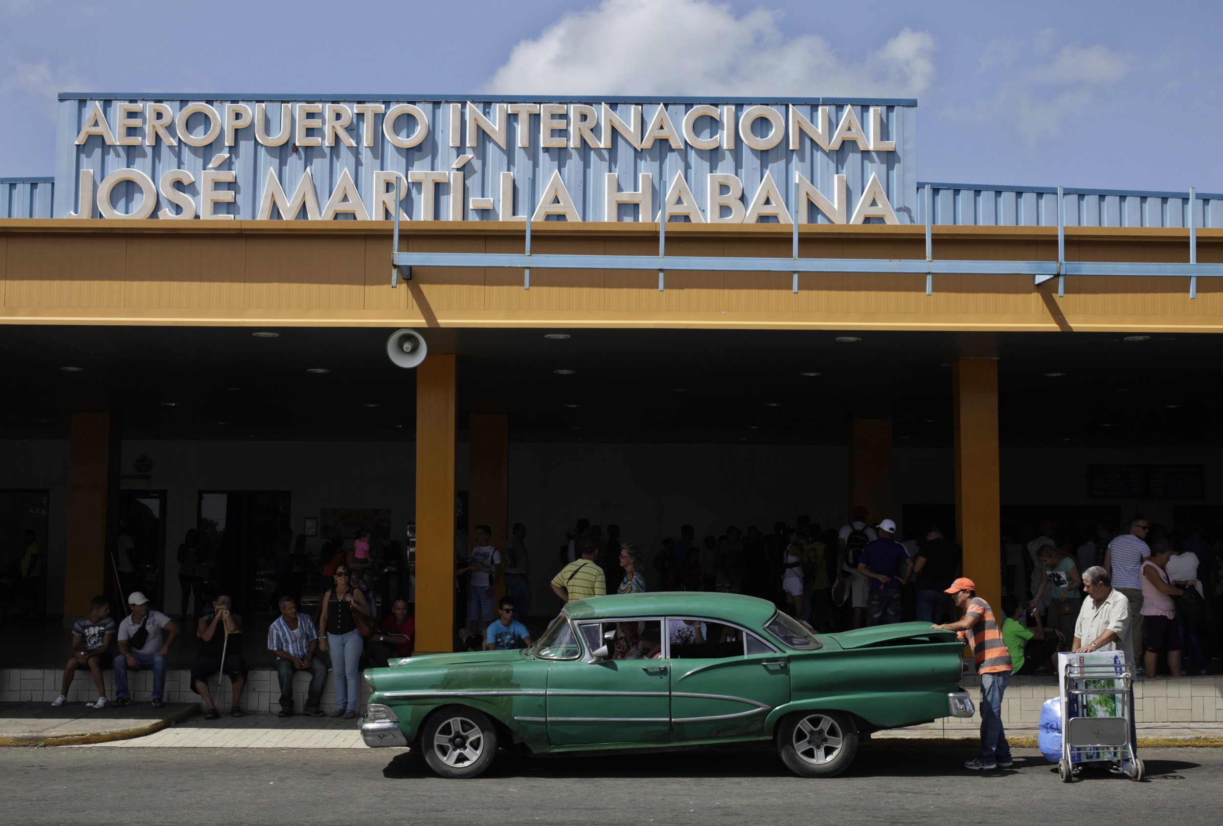 Castro customs officials caught stealing items from American