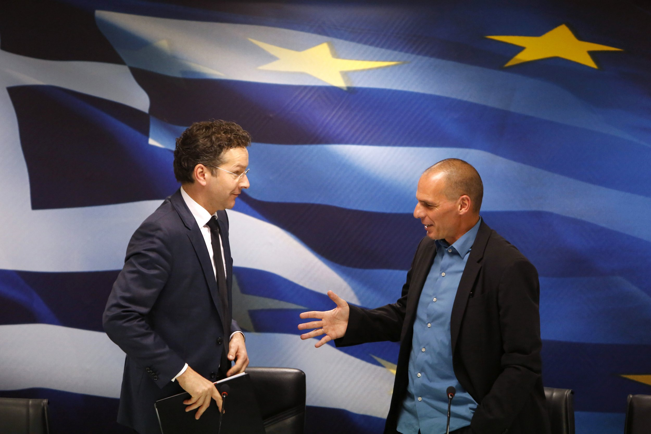 Dijsselbloem and Varoufakis