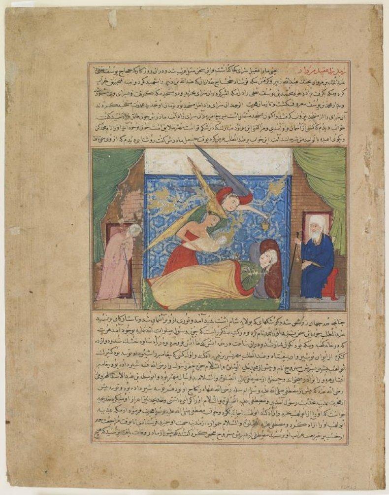 Figure 3 Muhammad's birth