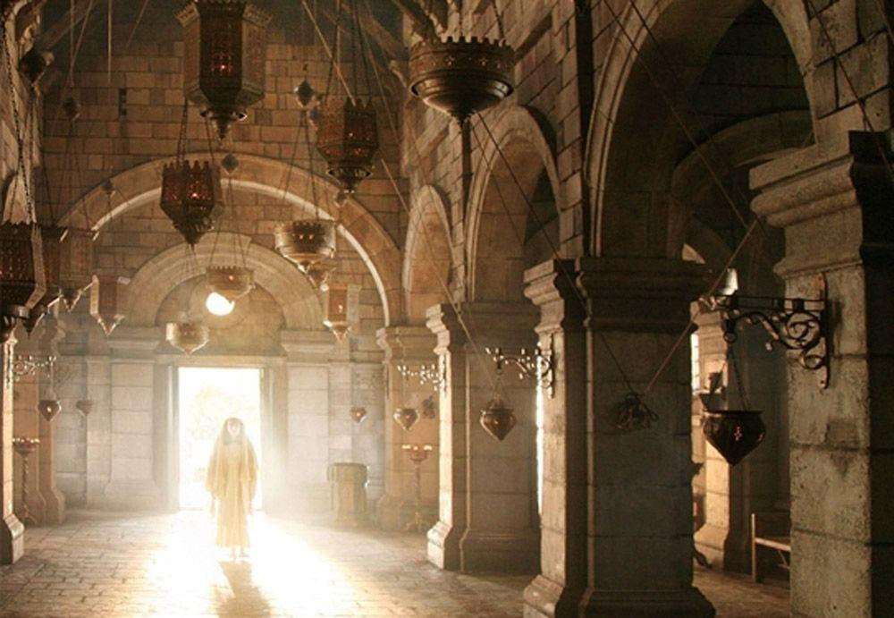 Figure 6 Young Muhammad at Bahira's Monastery, Majid Majidi, Muhammad Rasul Allah, Iran, 2015