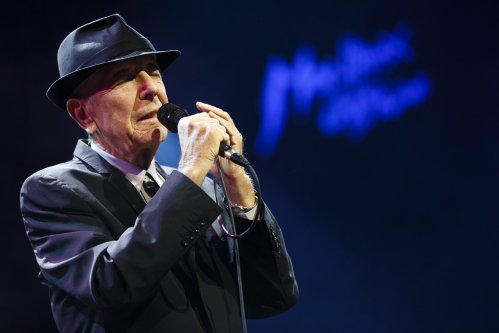 Leonard Cohen Smiles Down on Us From the 'Tower of Song'