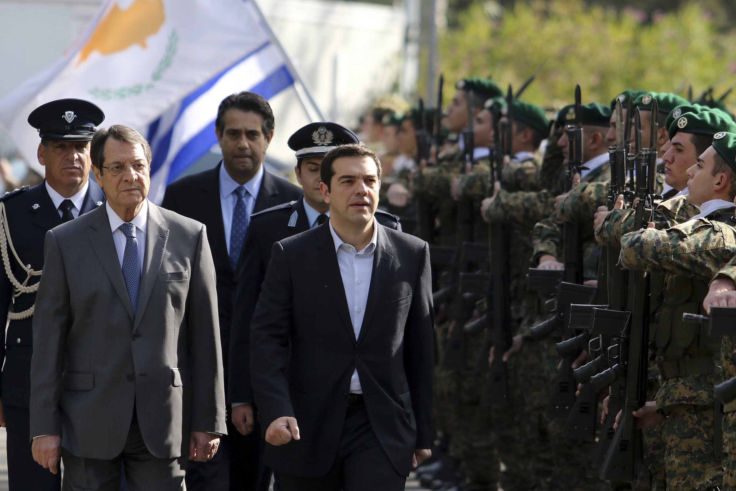 Anastasiades and Tsipras