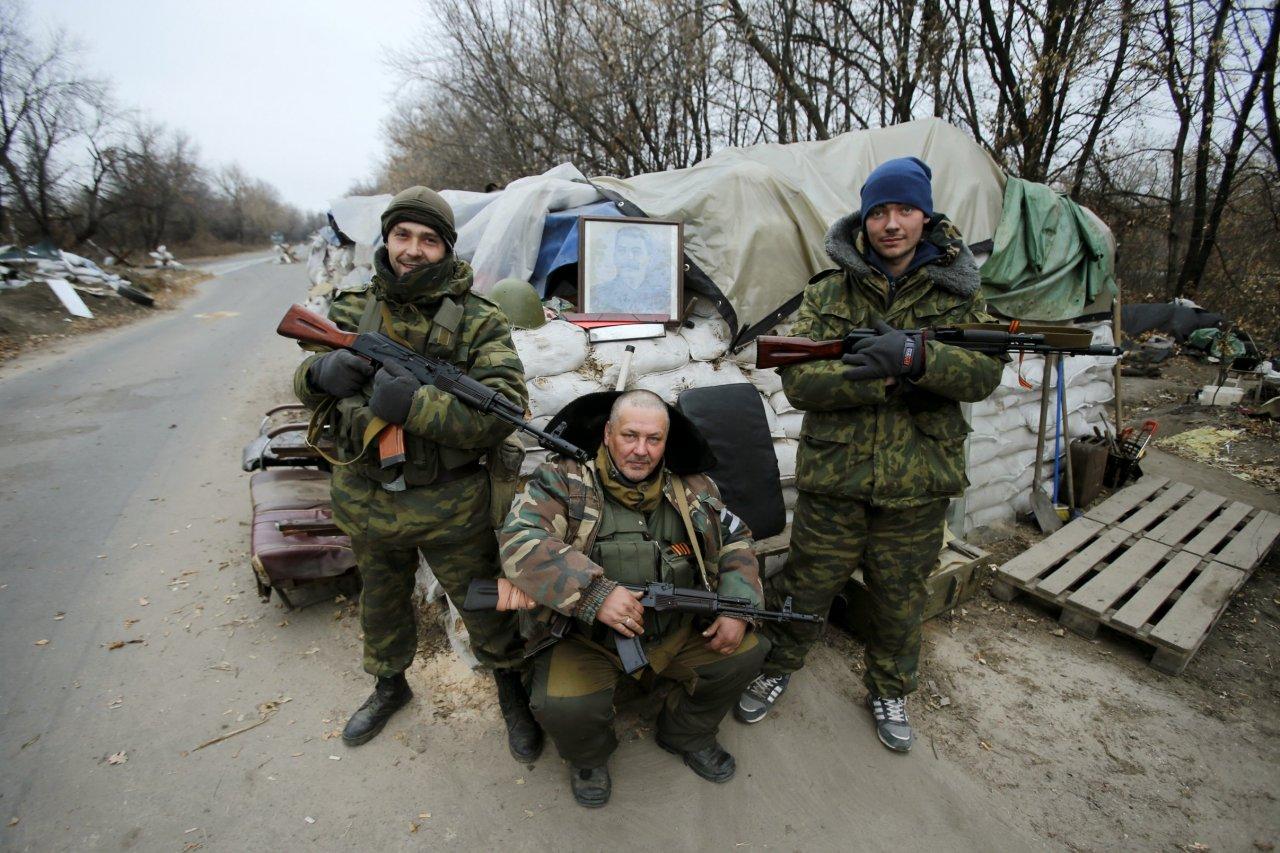 Ukrainian separatists