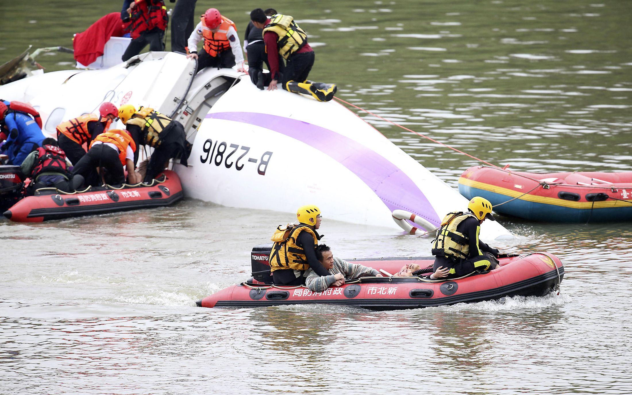 Taiwan Crash