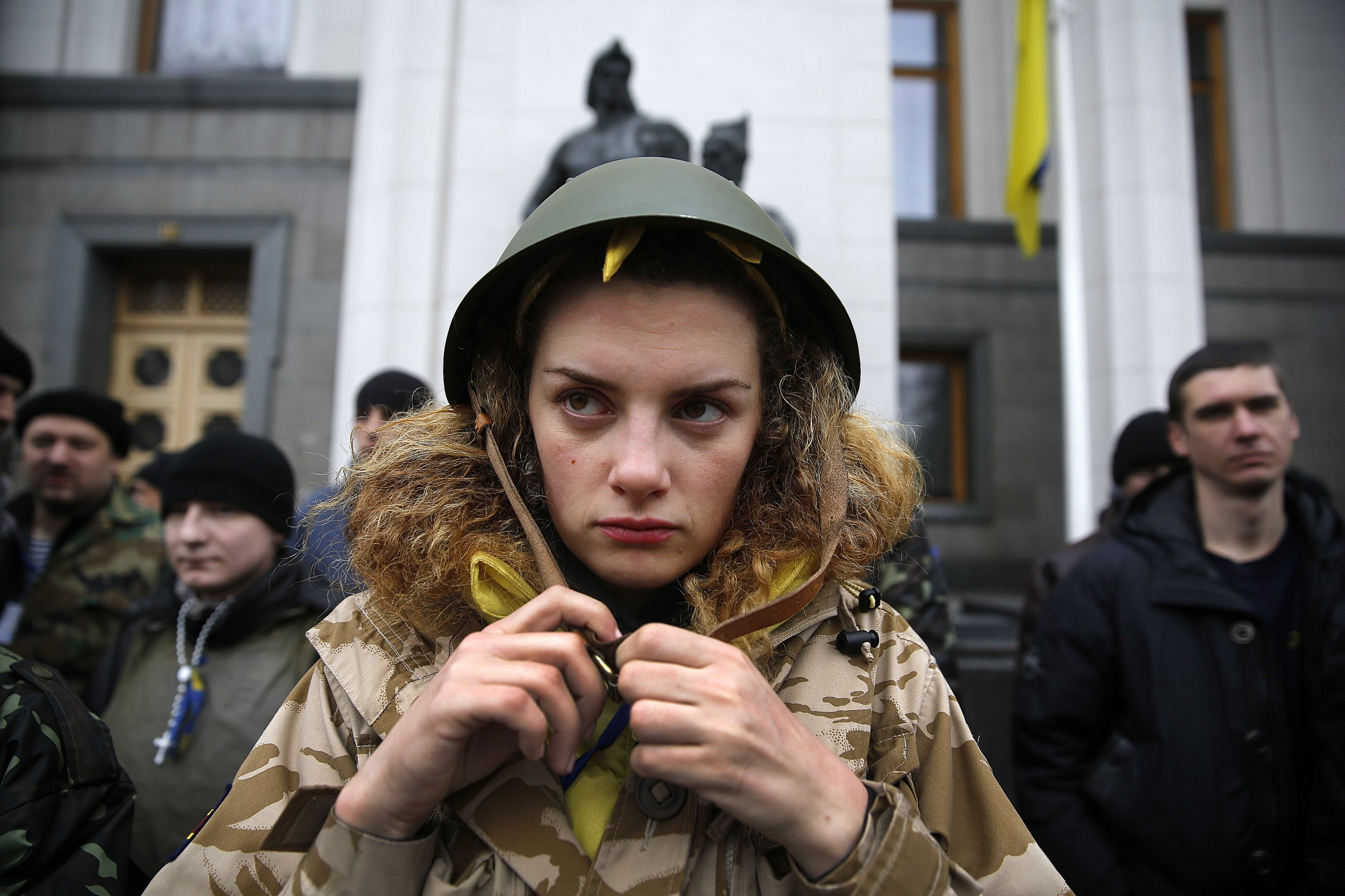 Ukraine to Call Up Women Over 20 for Armed Forces