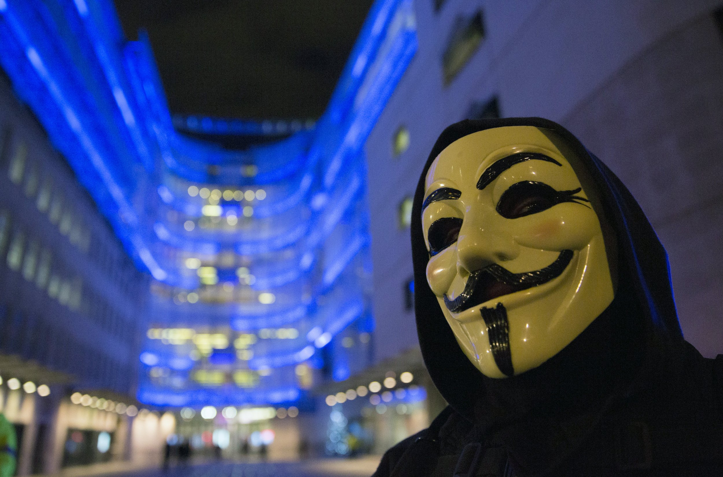 Anonymous Call UK Protest Against 'Paedophiles in the System