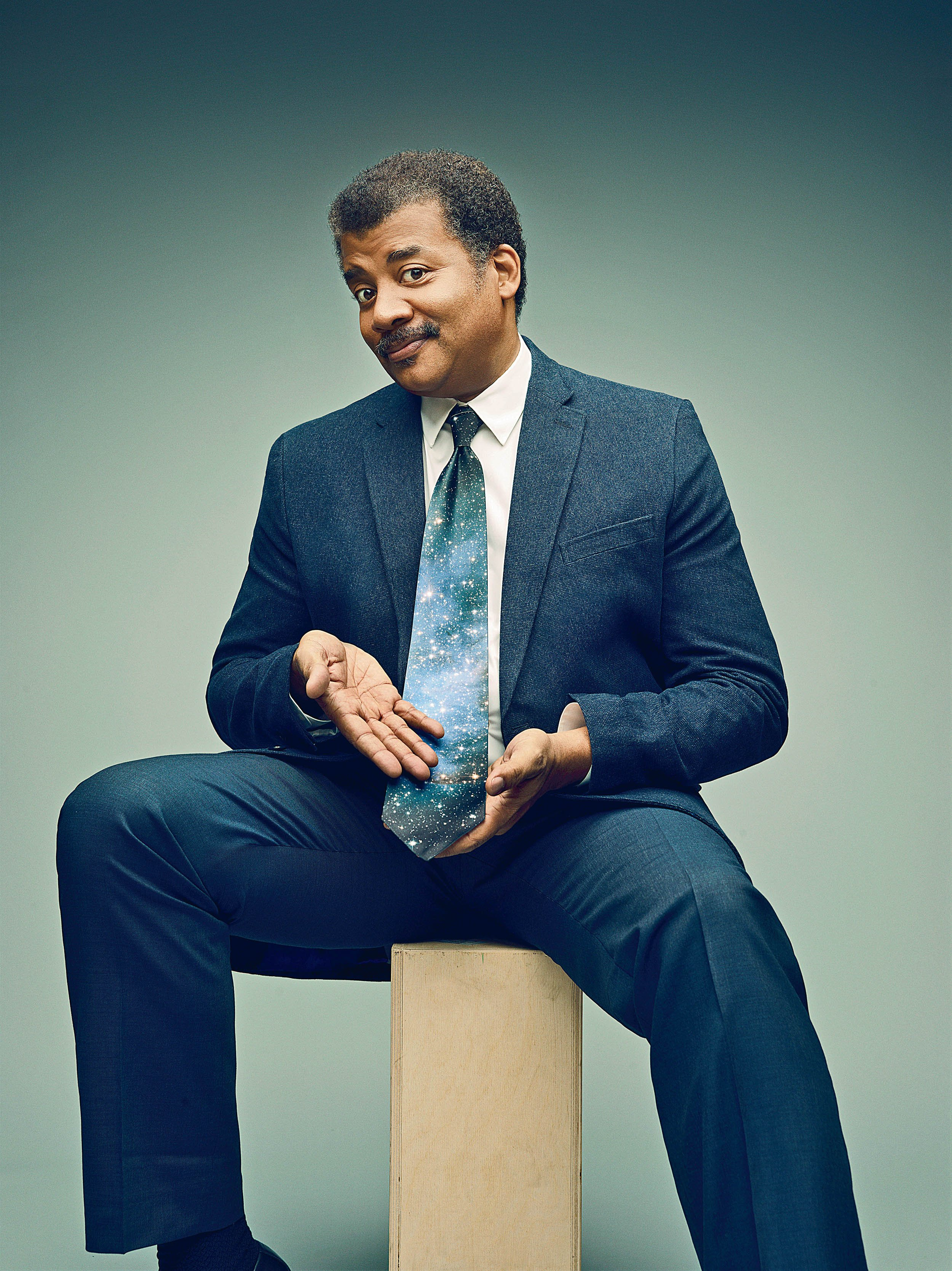 neil degrasse tyson is on your tv  on a mission