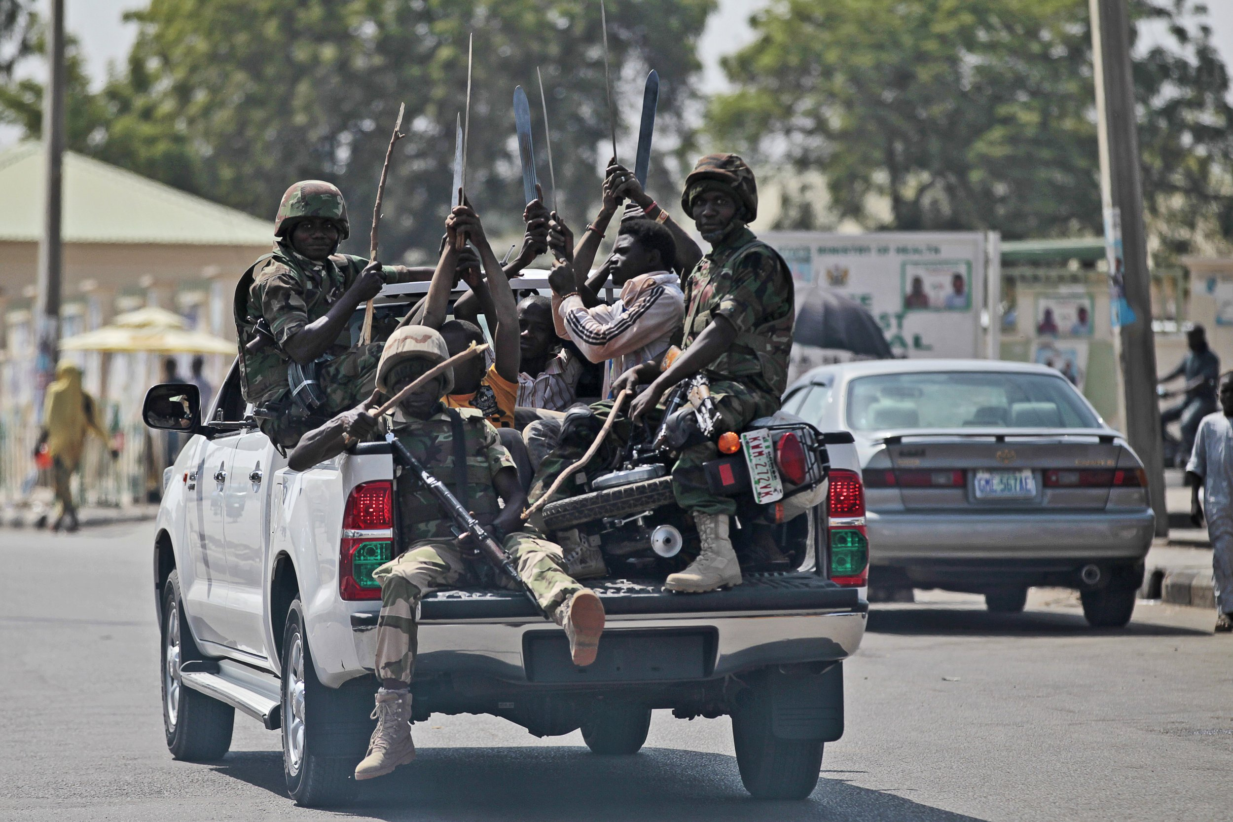 Soldiers in Nigeria
