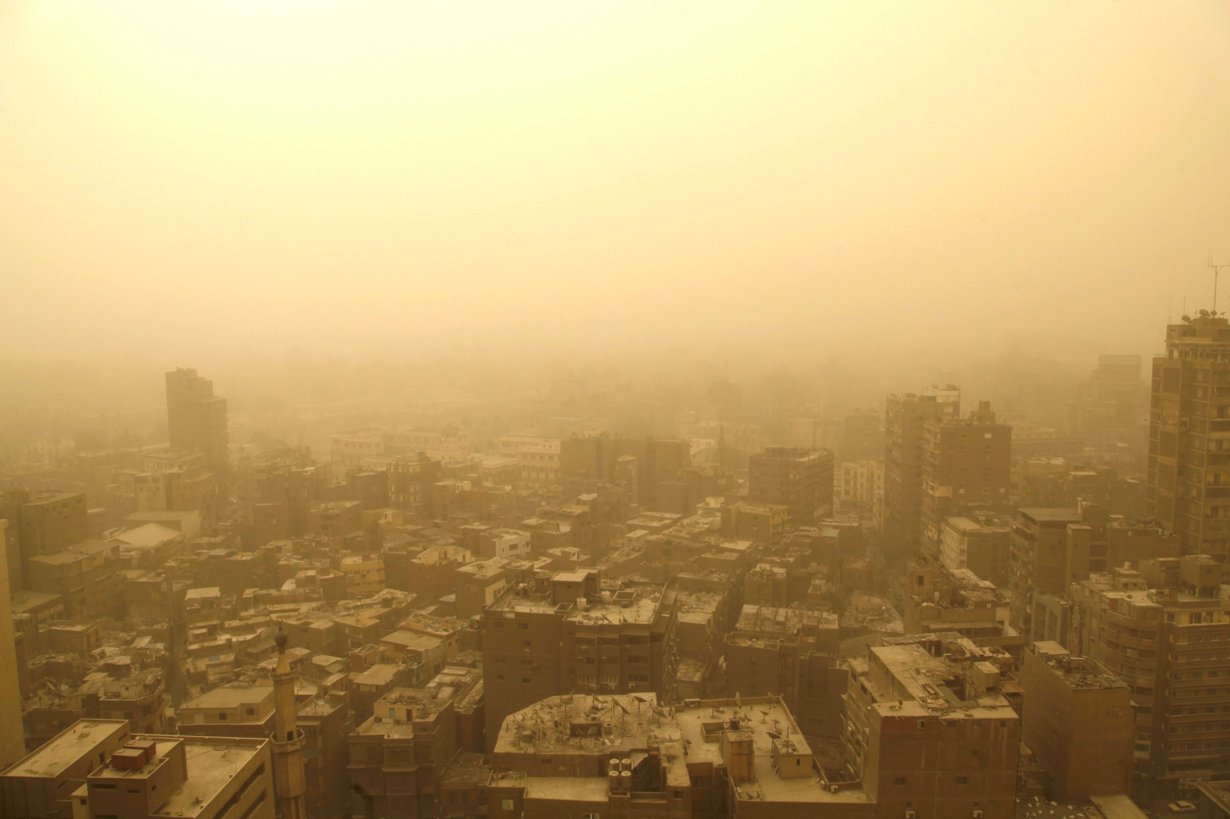 150 Meters Into Feet Photos Show Powerful Sandstorm Blasting Middle East