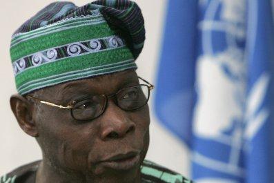 Obasanjo Nigeria Goodluck Jonathan Boko Haram