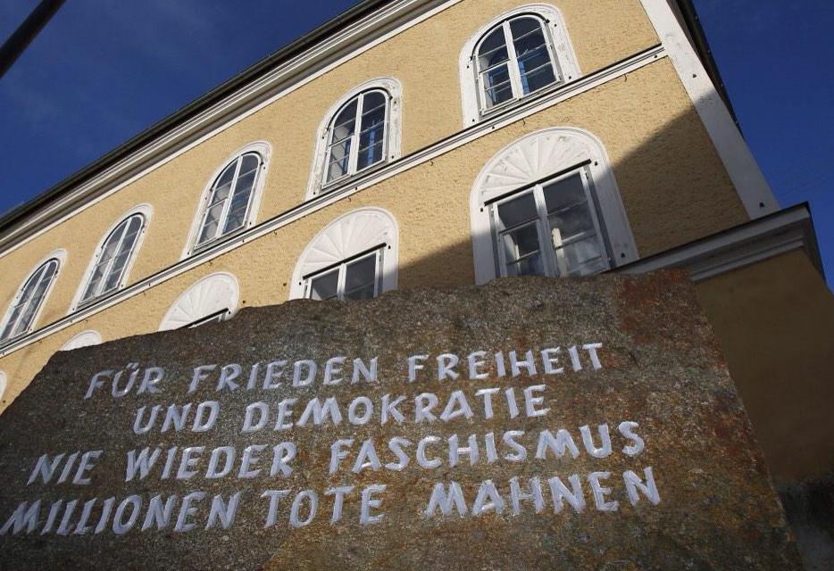 The house where Hitler was born