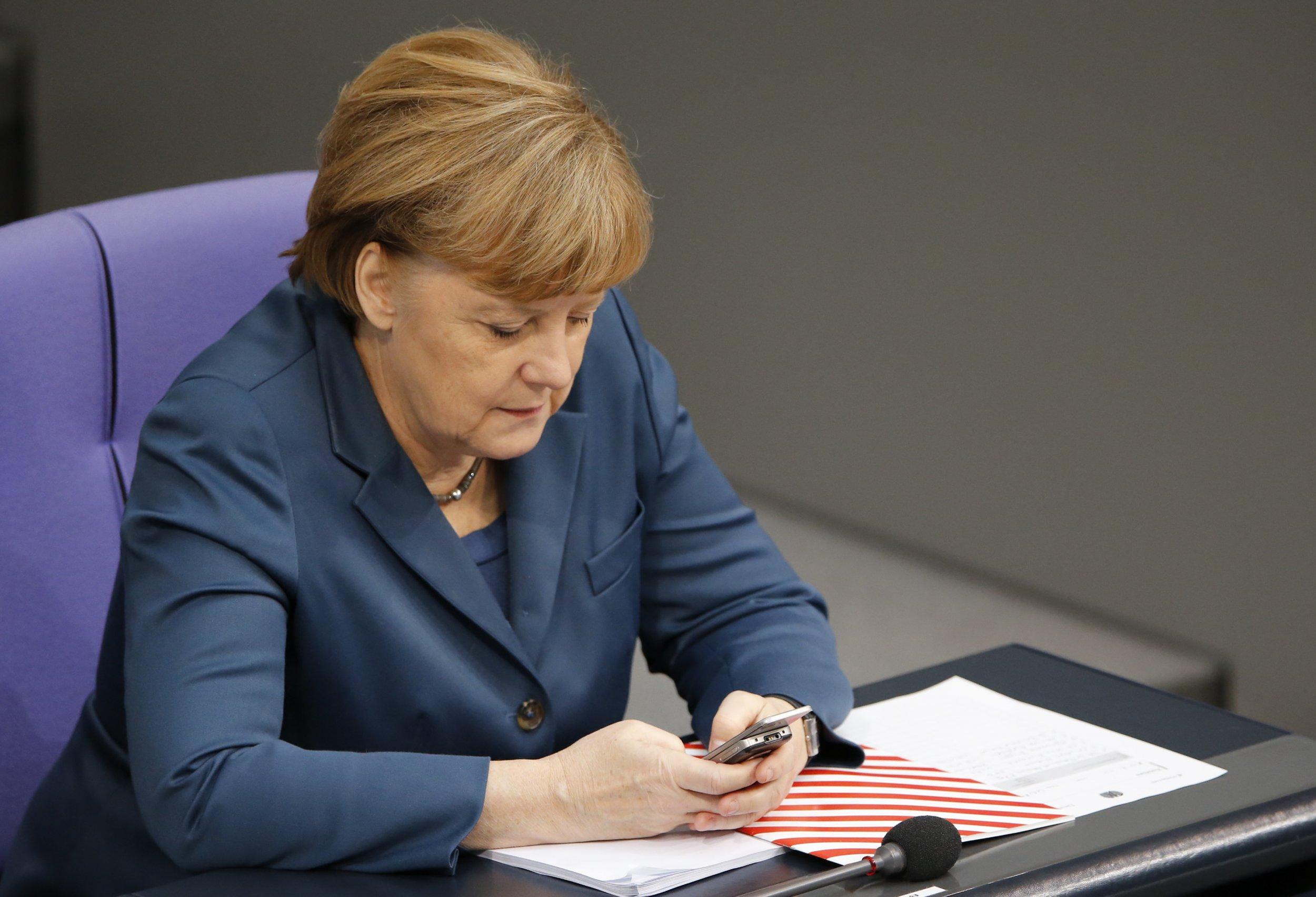 Merkel phone