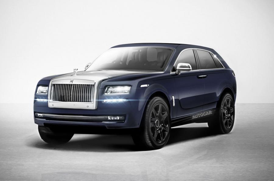 New Rolls Royce