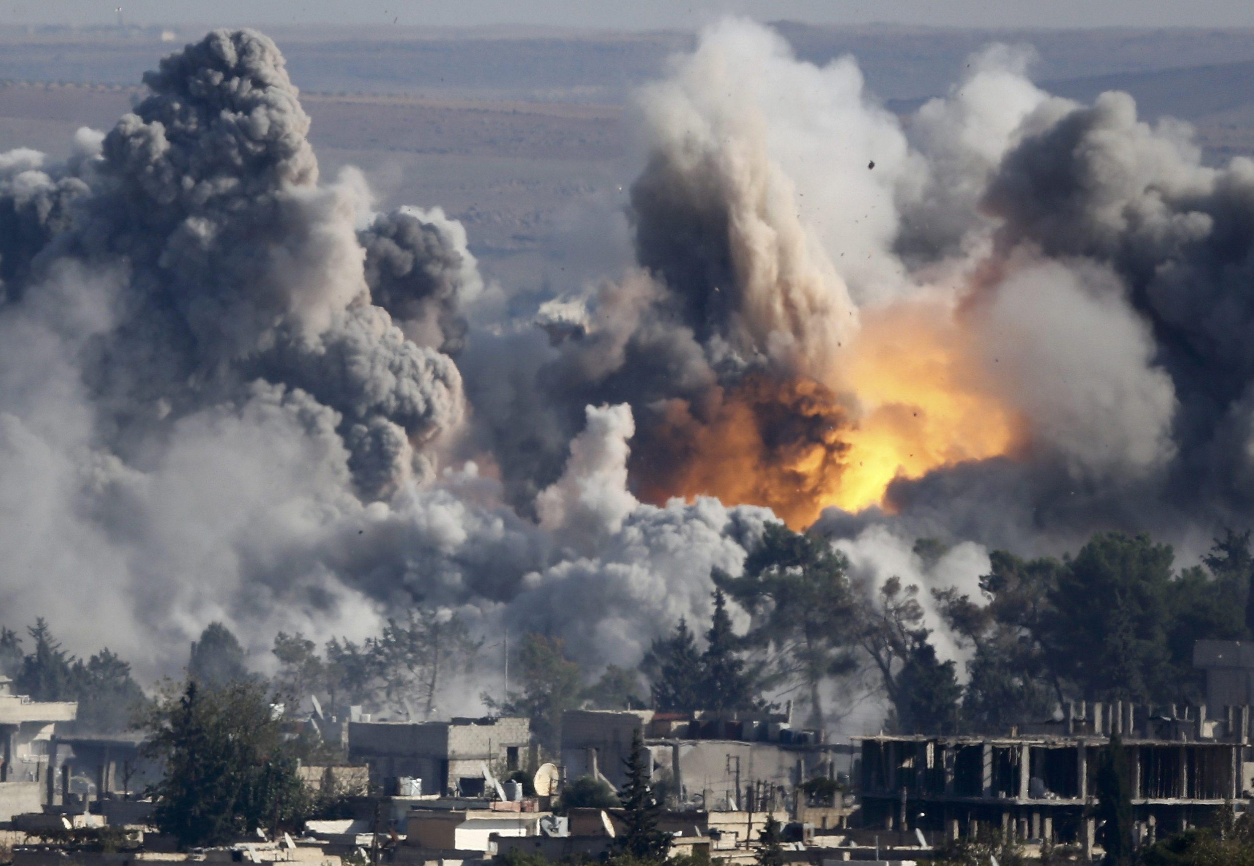 Image result for us airstrike syria