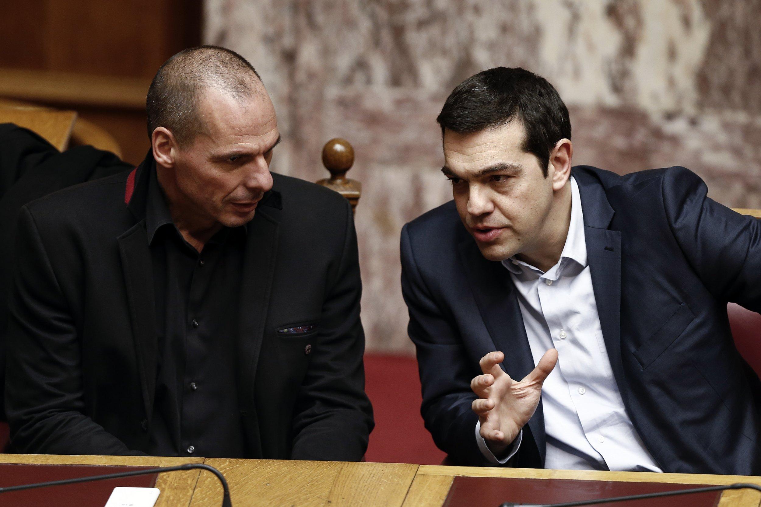 Tsipras and Varoufakis