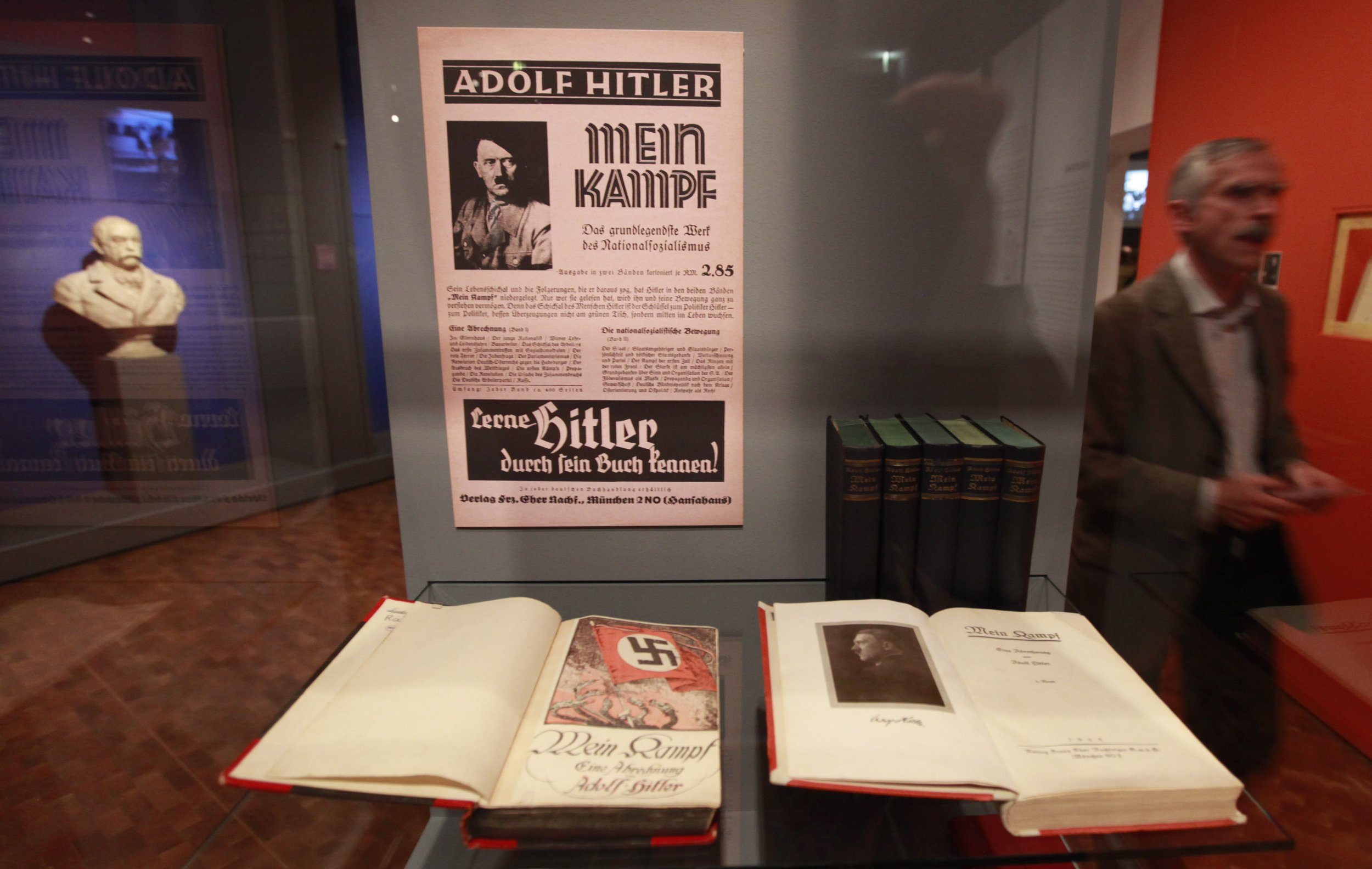 "Copies of Adolf Hitler's book ""Mein Kampf"""