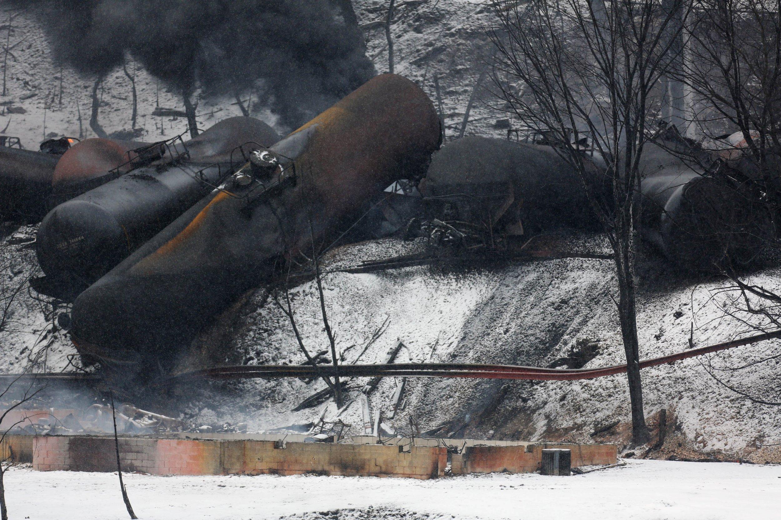 West Virginia train derailment
