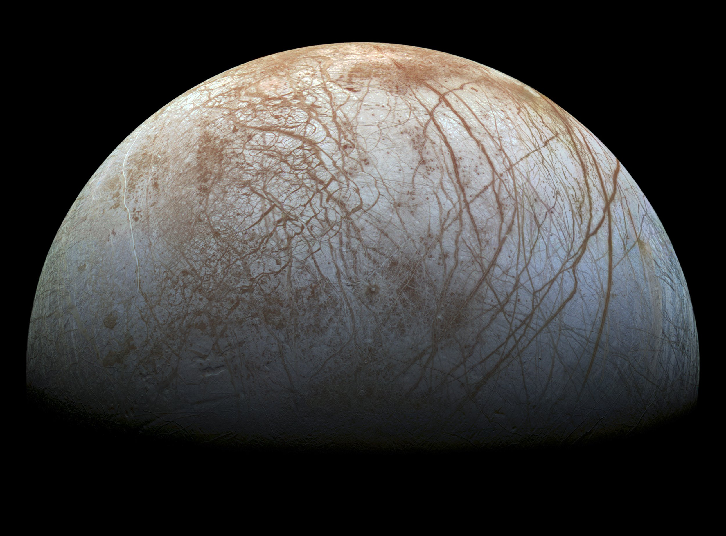 Life on Europa? NASA Charts Mission to Jupiter's Icy Moon