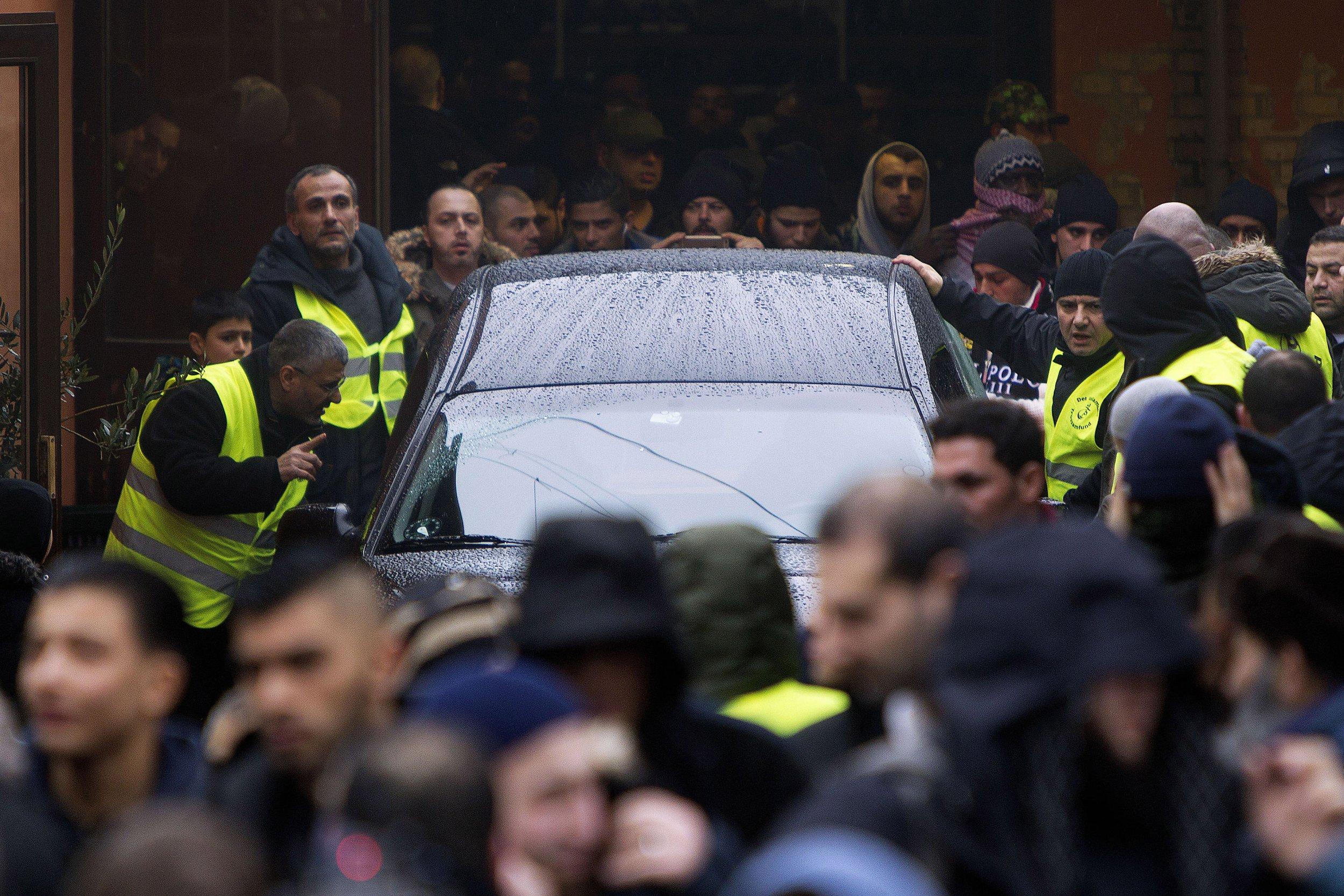Omar El-Hussein funeral