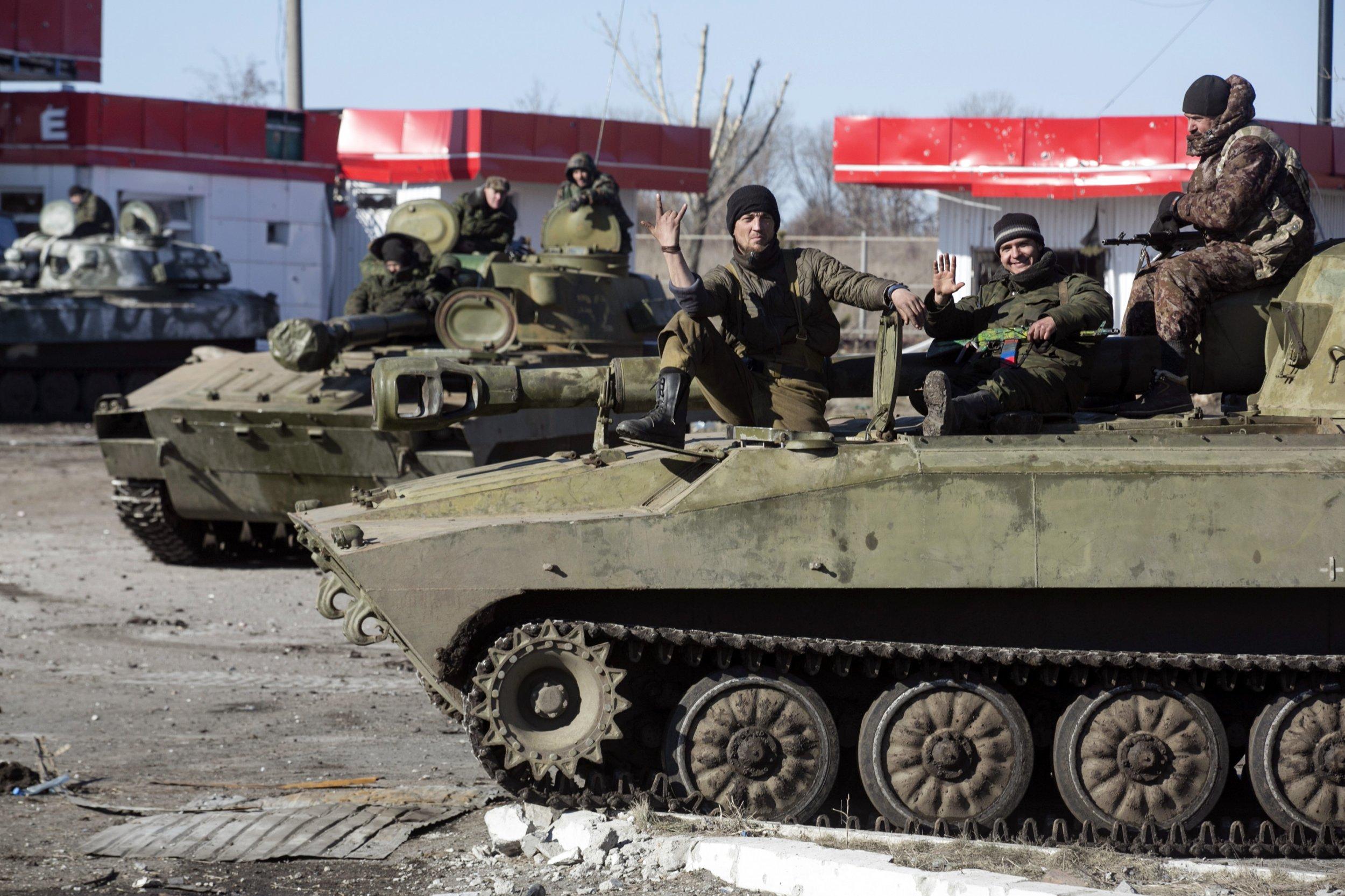 Europe Throws Ukraine Under the Bus