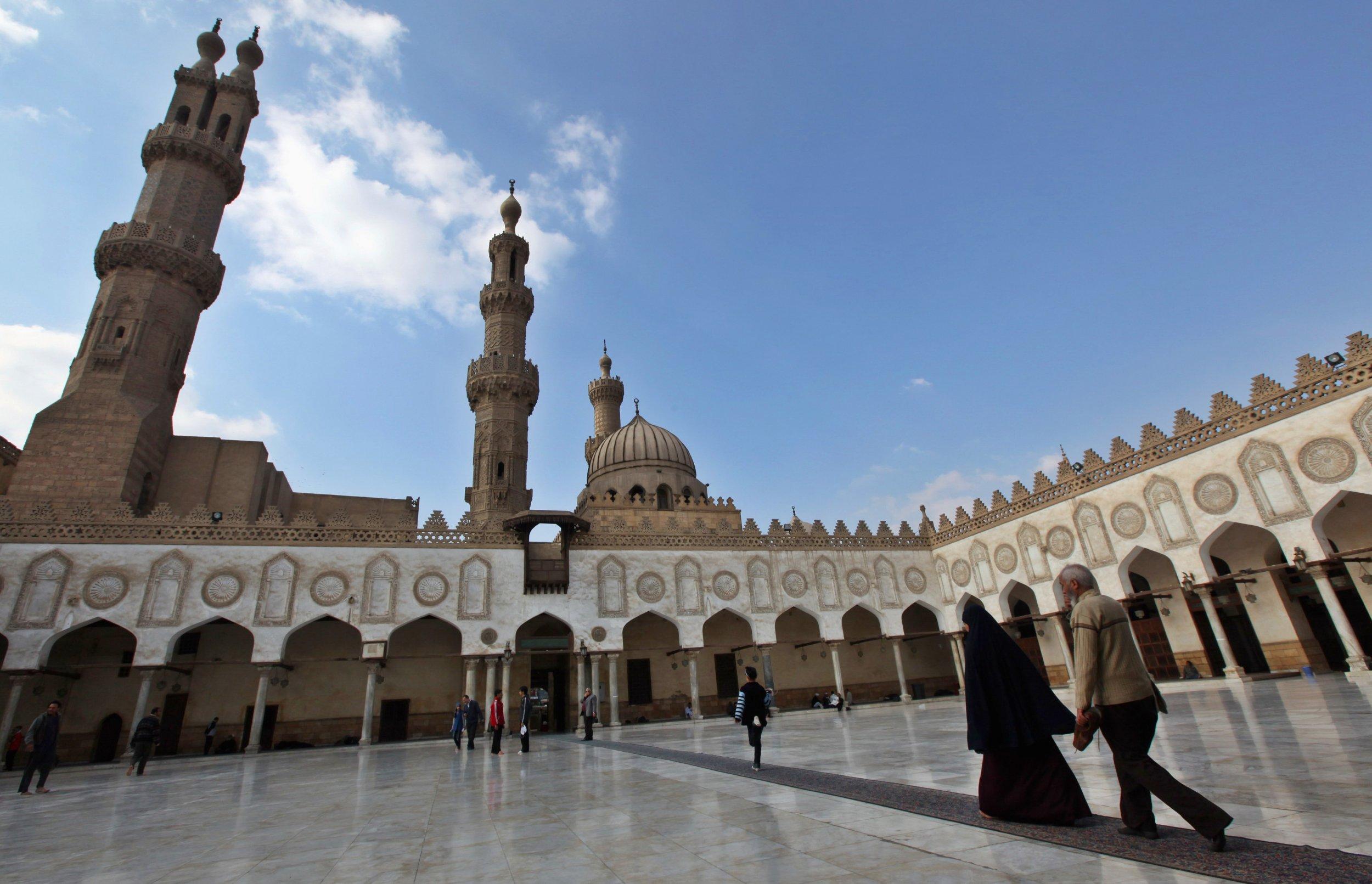 Picture of a Mosque cum madrassa