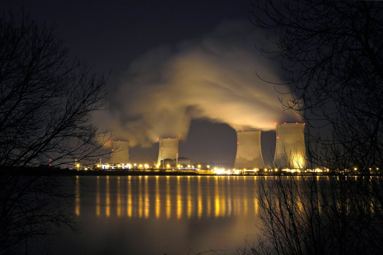 French nulcear power station