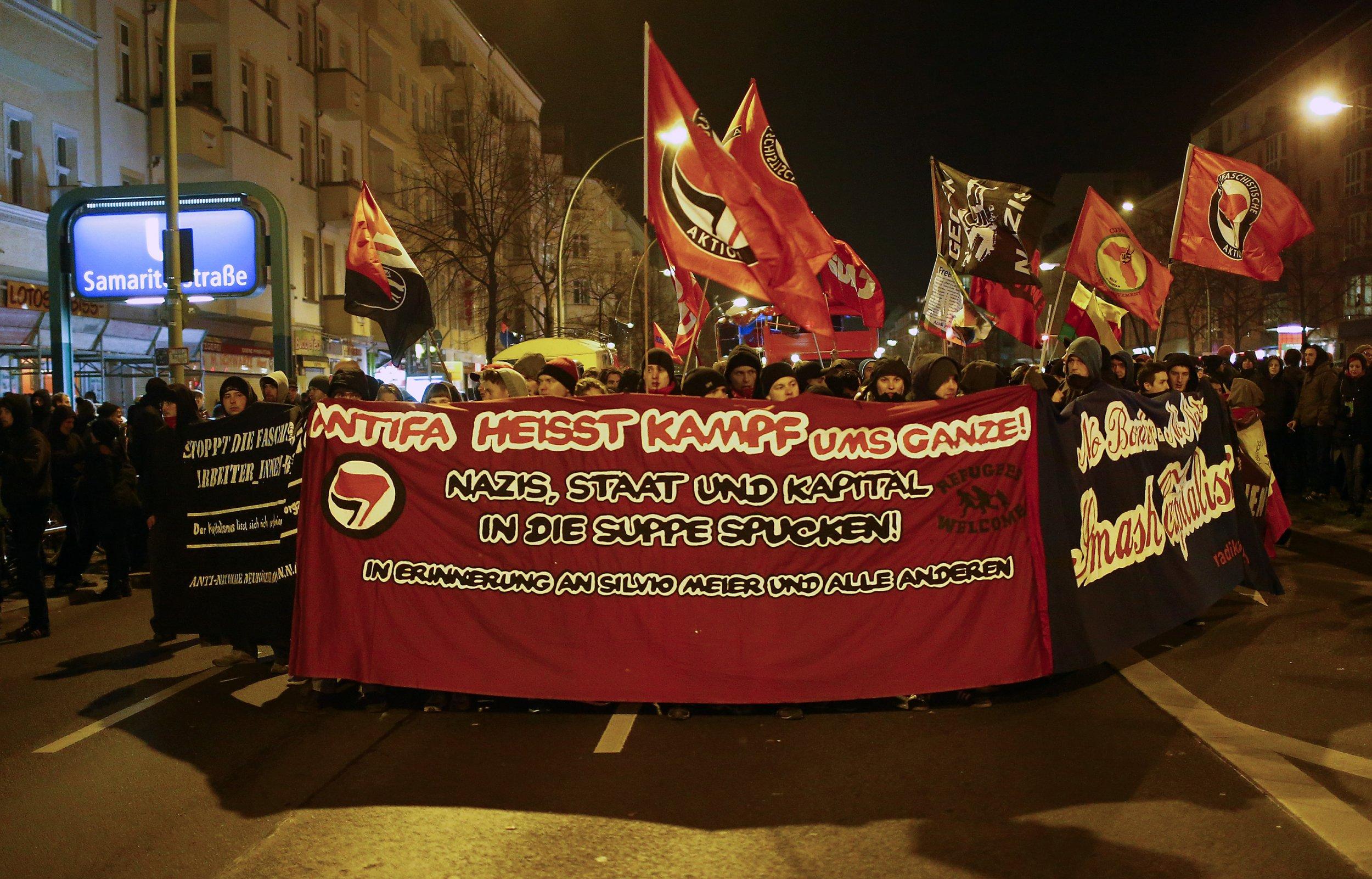 German protest