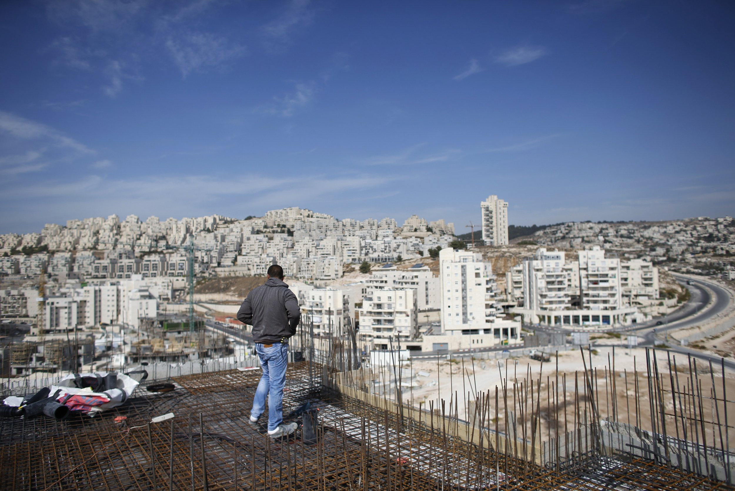 Israel West Bank Settlement