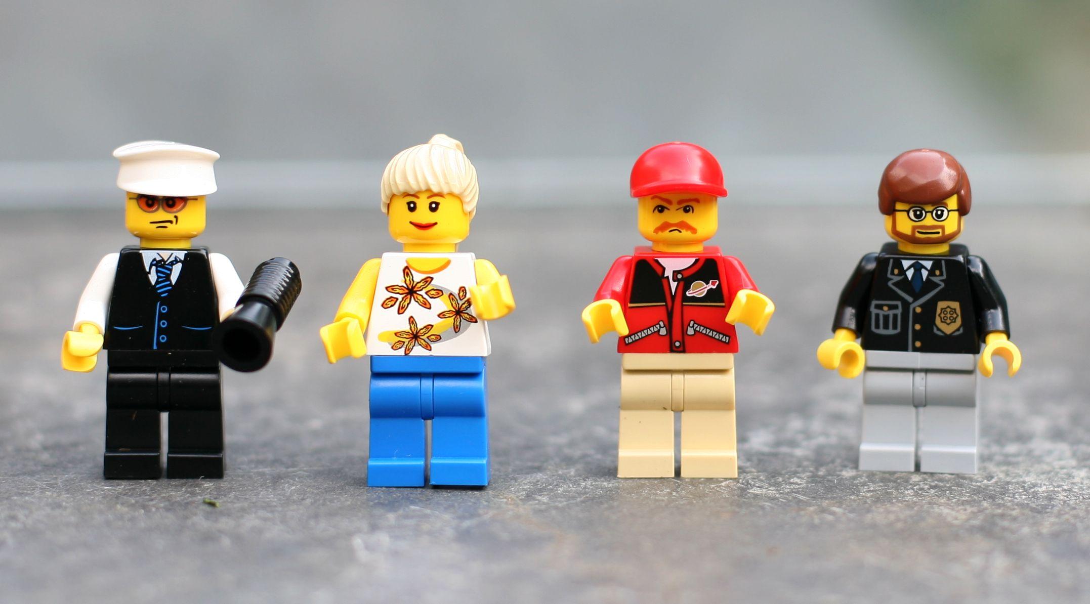 Lego City Folk