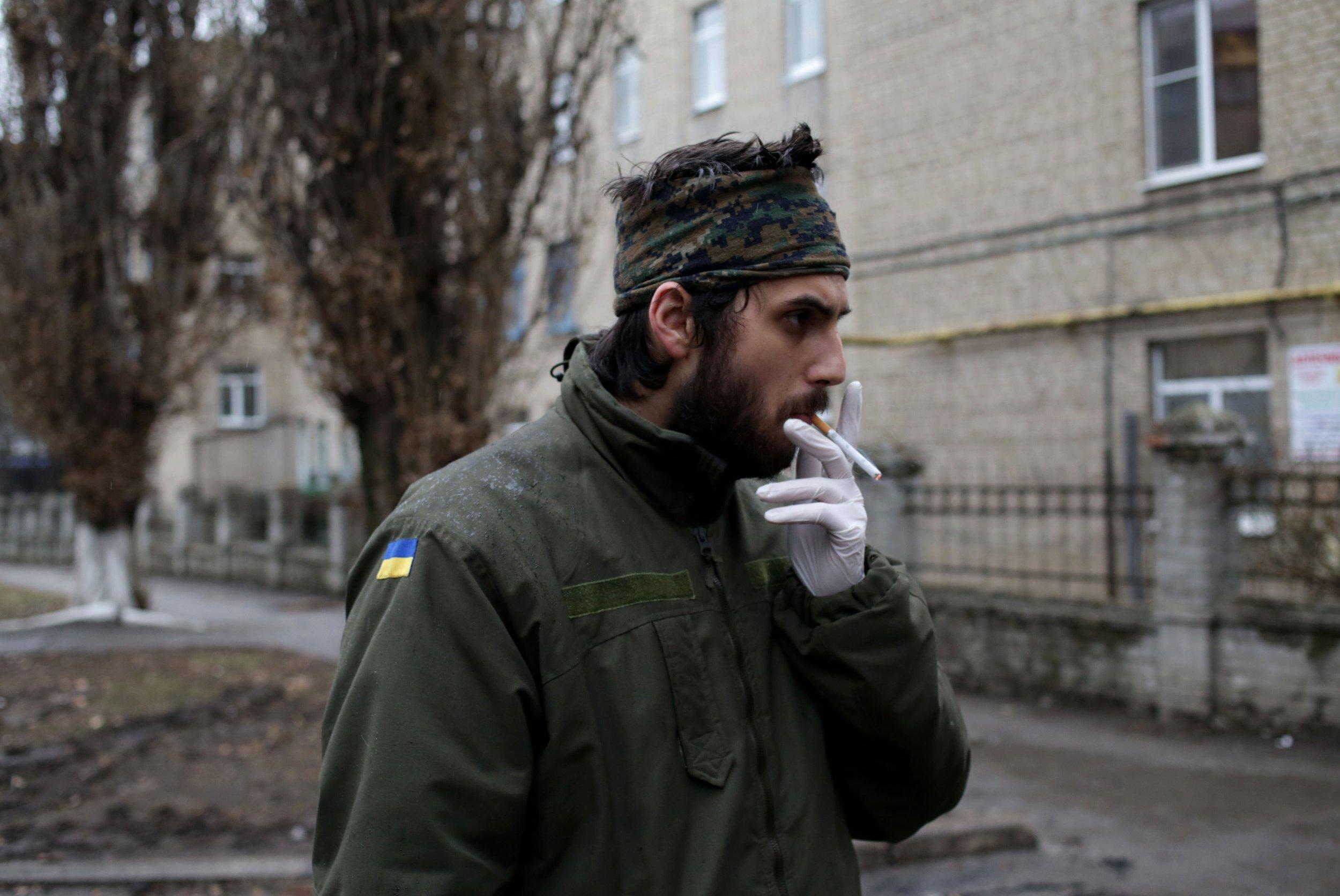 Ukraine paramedic