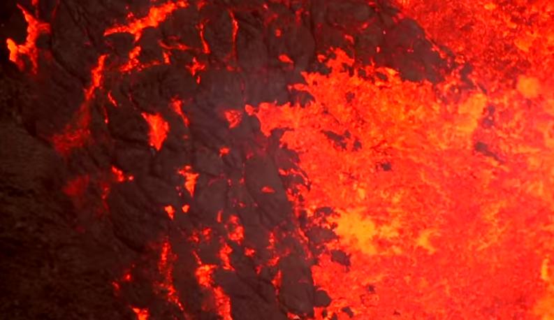 2-26-15 Volcano drone video