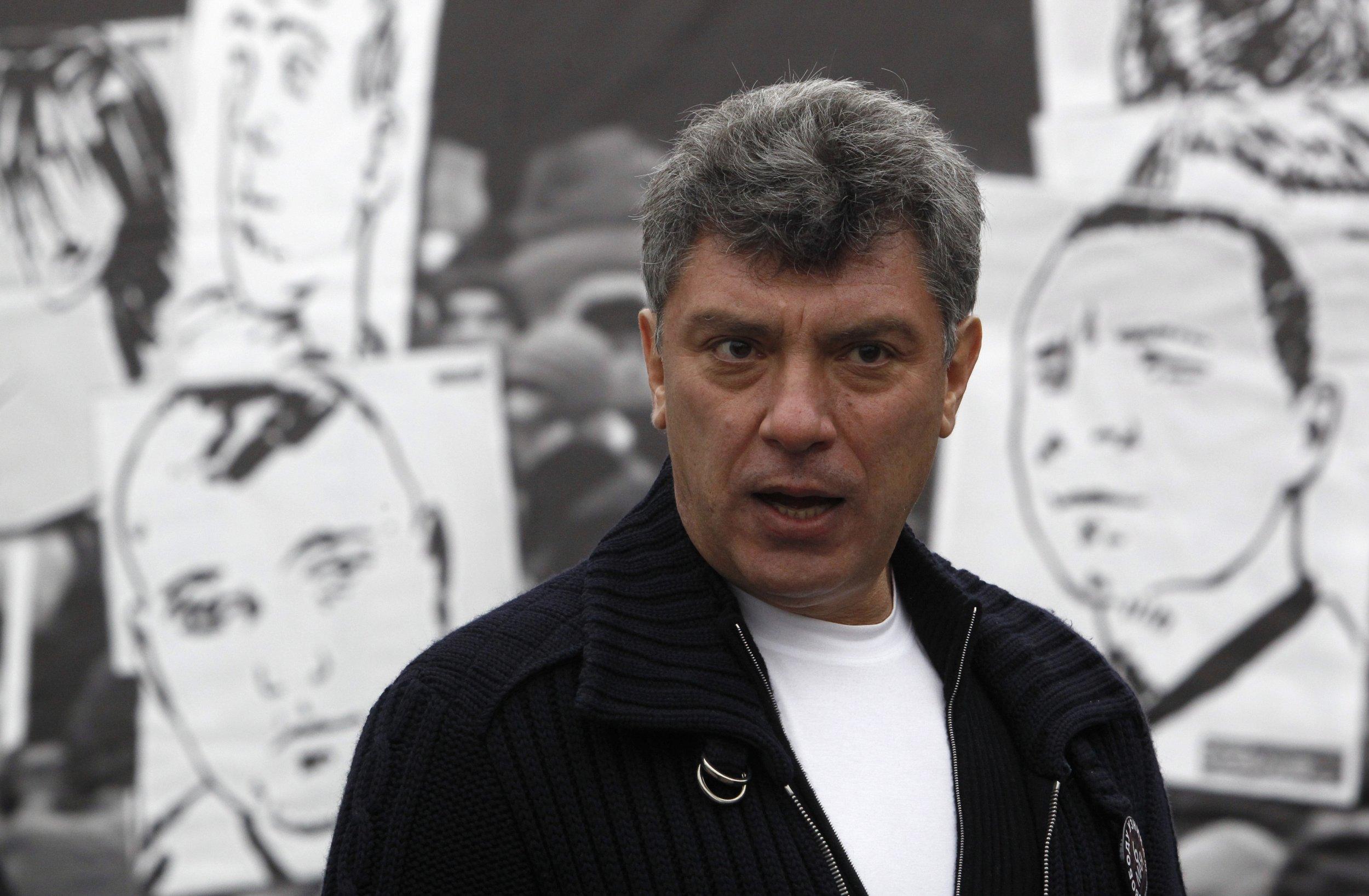 Russian Dissident Boris Nemtsov