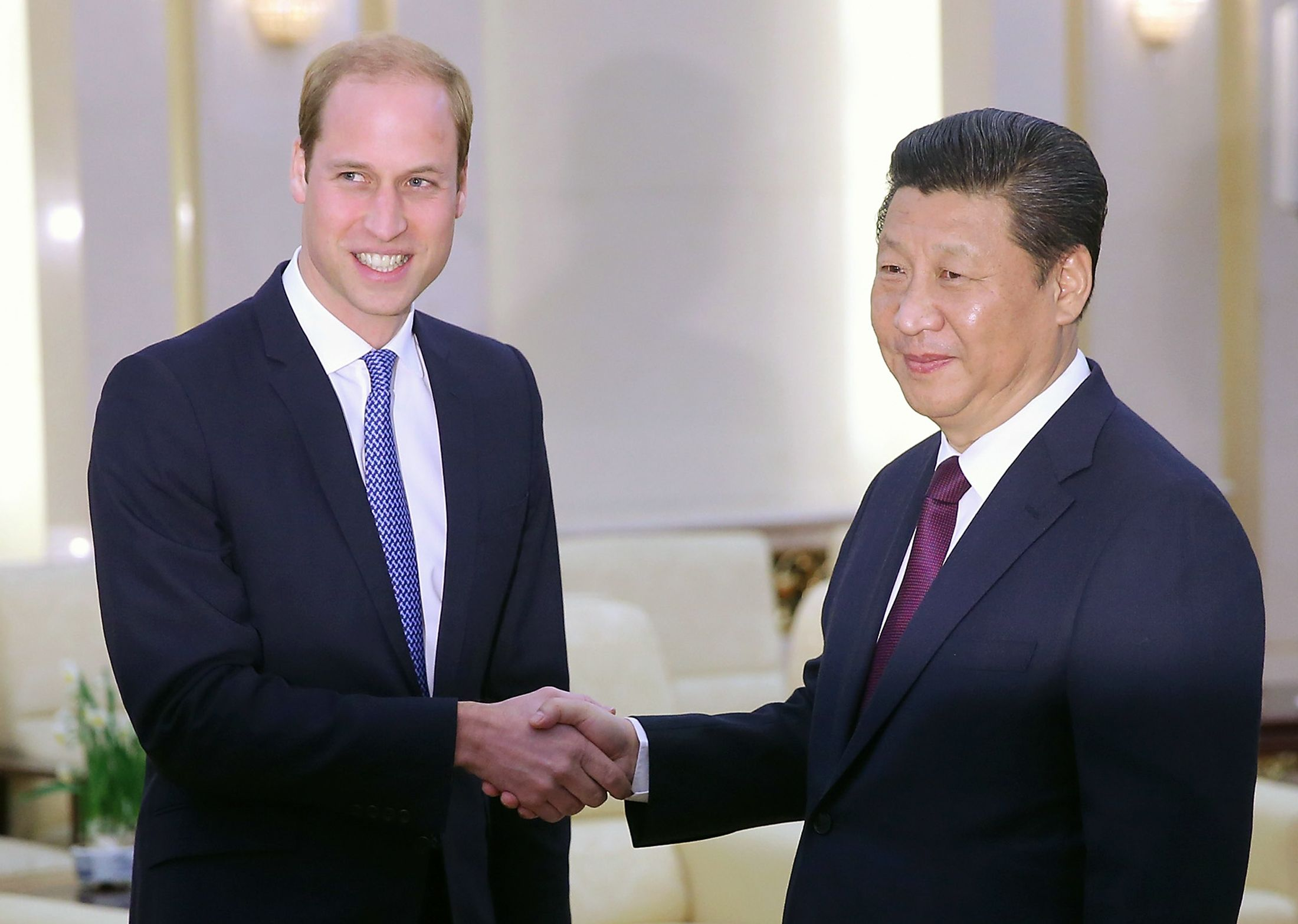 Prince William Xi Jinping