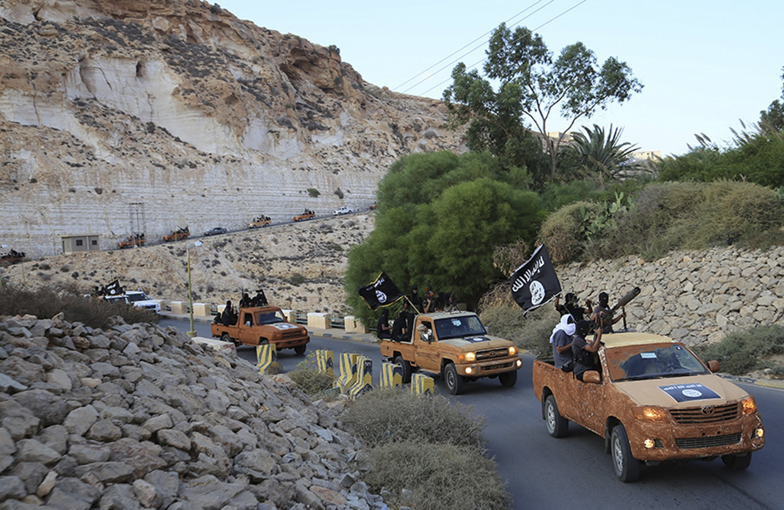 Libya ISIS Derna