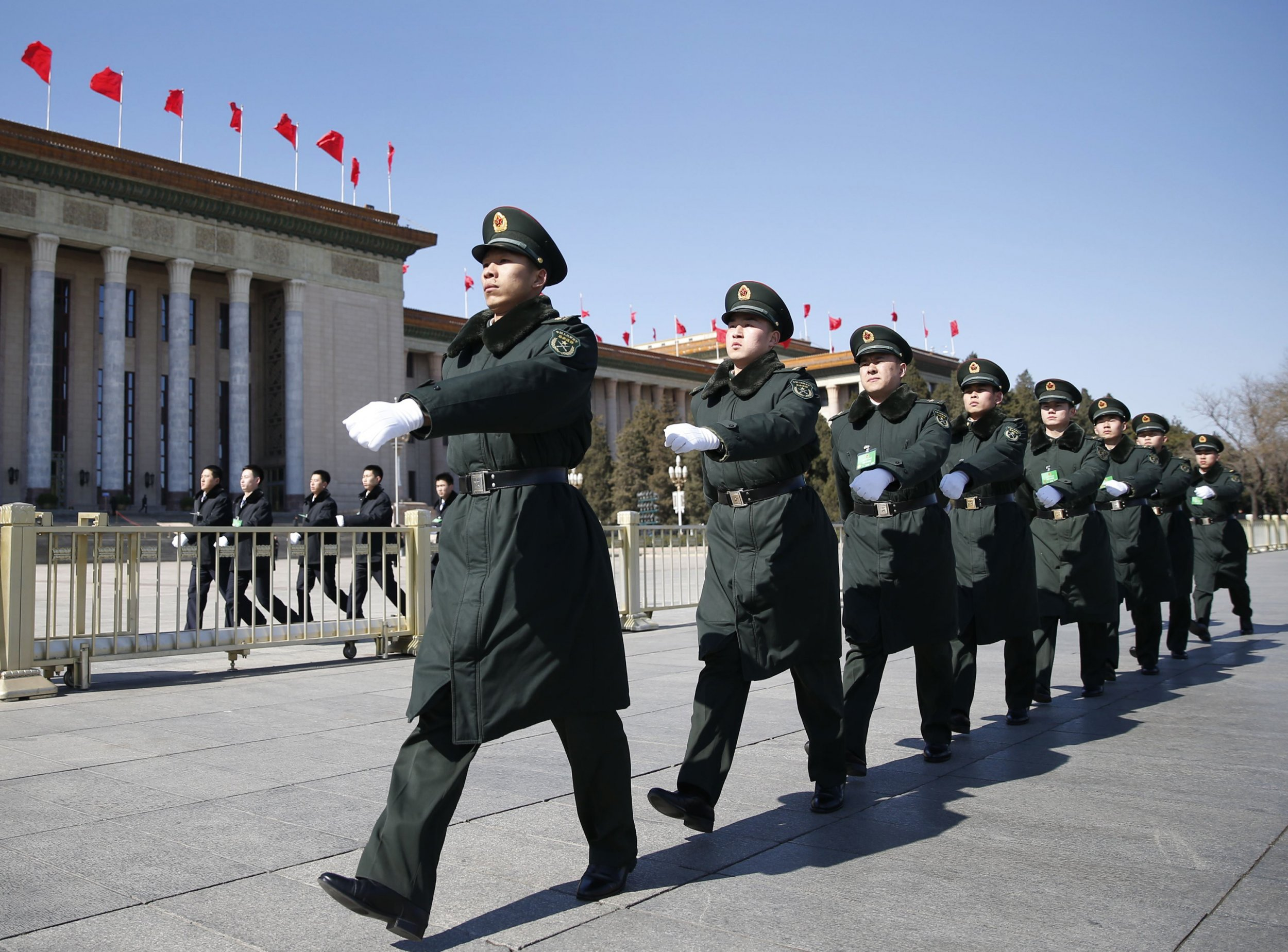 China Increases Military Budget by 10%