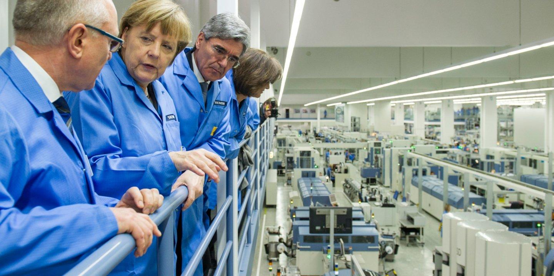Merkel factory