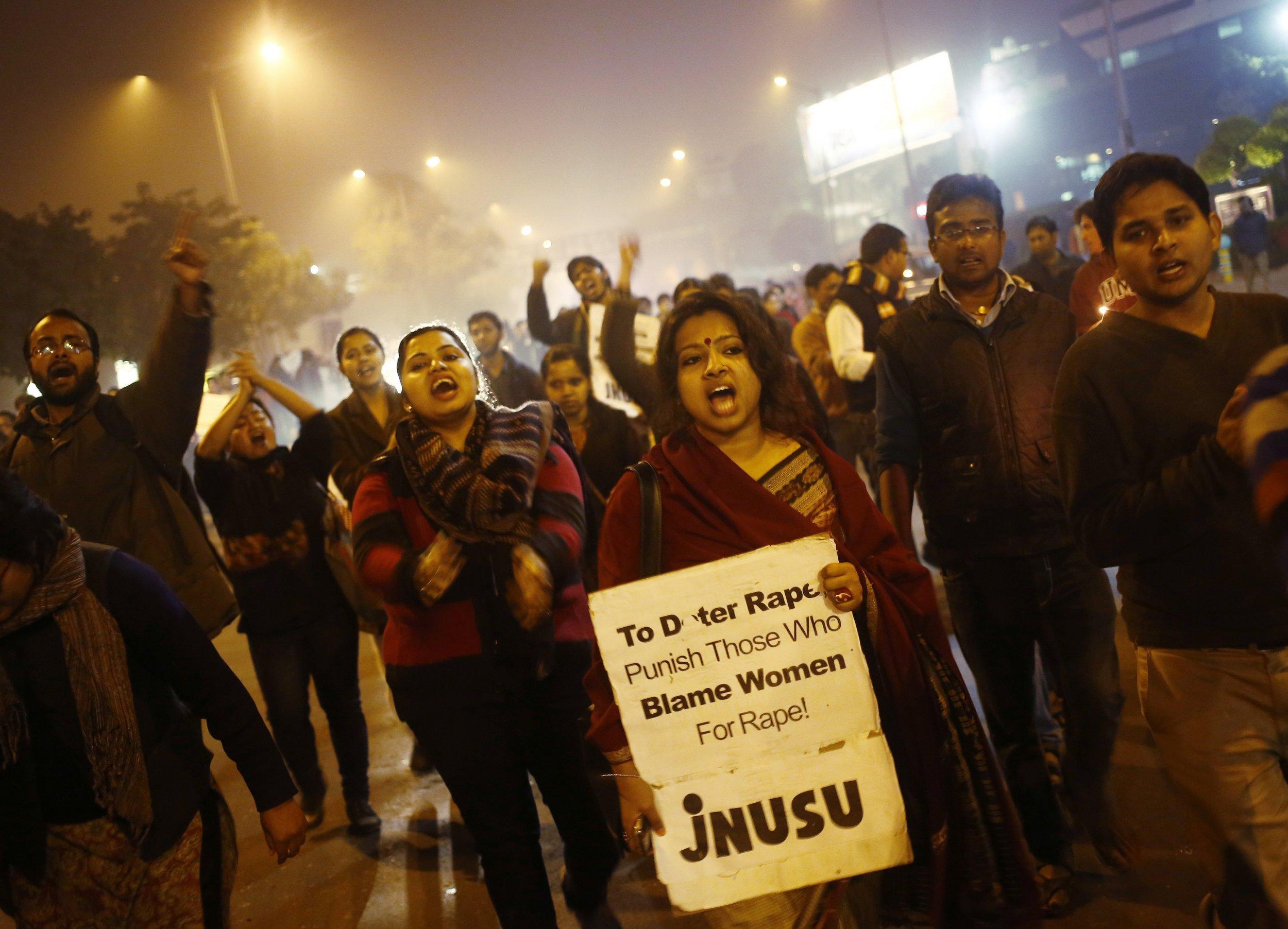3-5-15 India rape protest