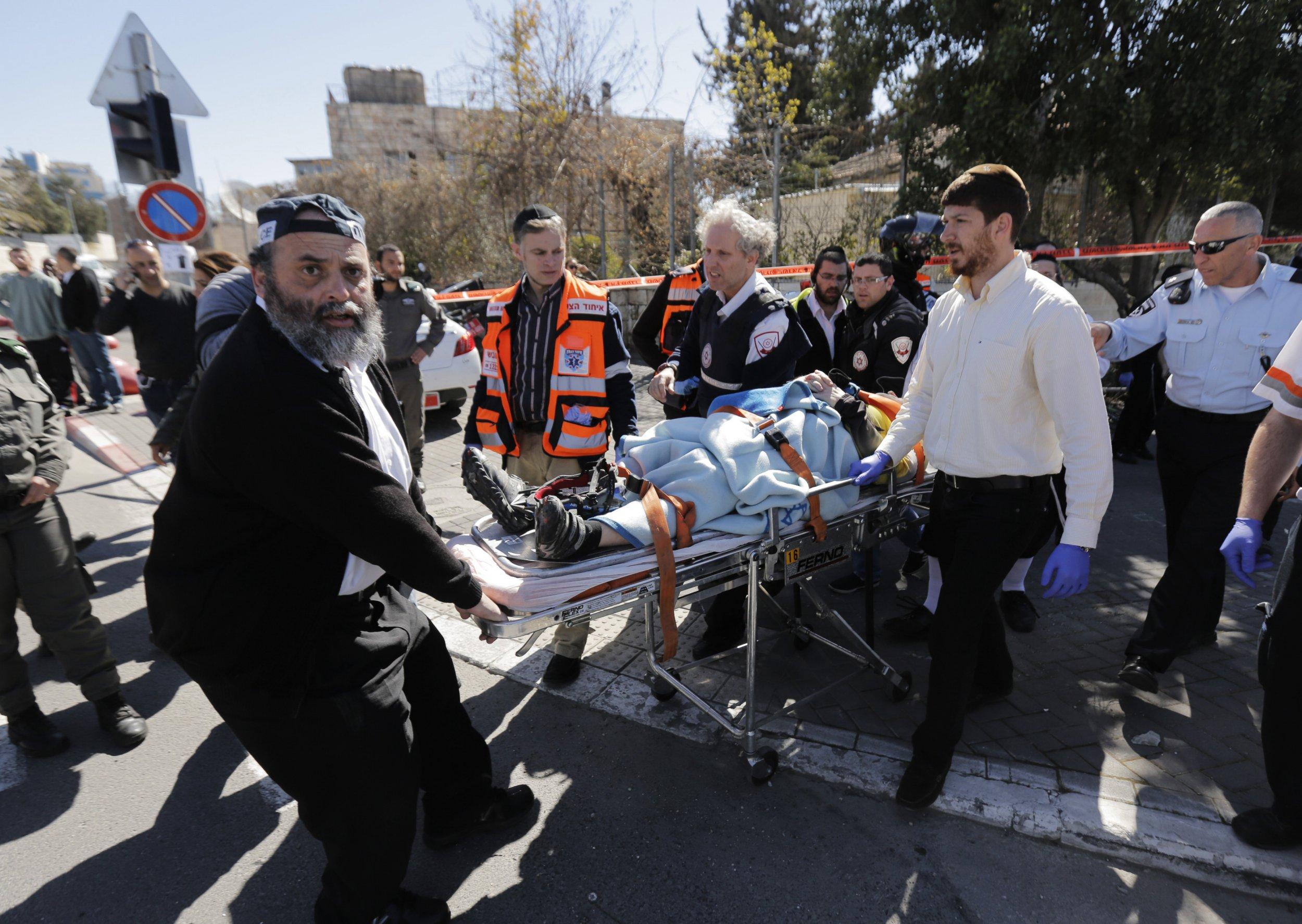 East Jerusalem attack