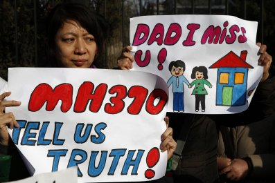 MH370 families