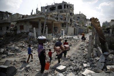 Gaza devastation