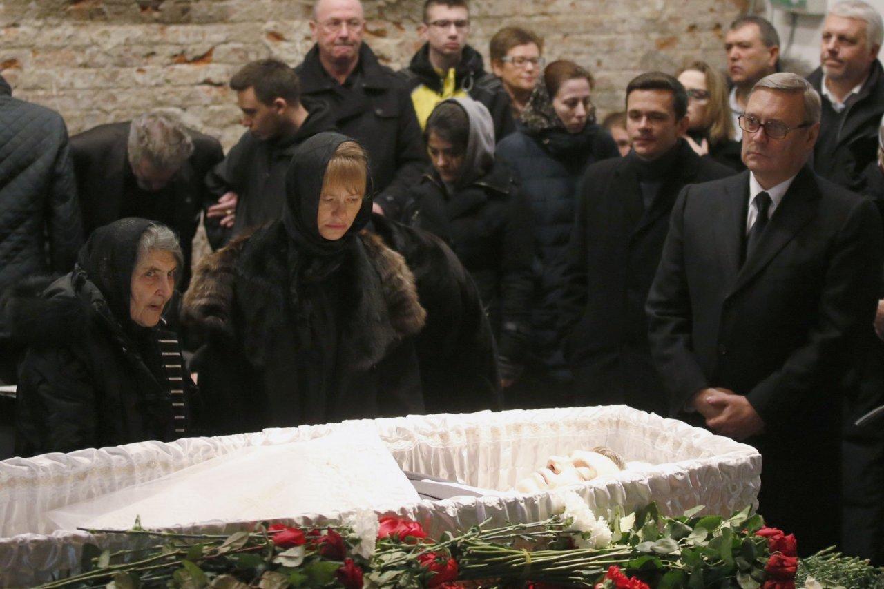 Nemtsov funeral